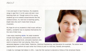Diane Hidy's Website: 3 Non-Sketchy Ways to Gain Music Students Through Your Website