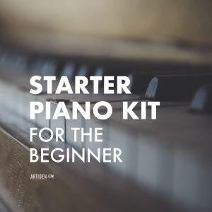Starter Piano Kit for the Beginner